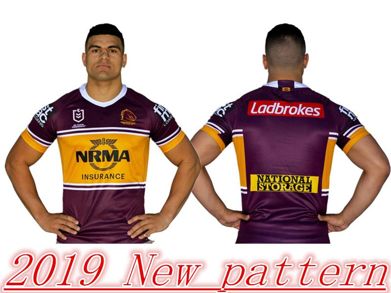 2019 2019 NRL BRISBANE BRONCOS JERSEYS Size  S 3XL SOUTH SYDNEY RABBITOHS  SYDNEY ROOSTERS QUEENSLAND COWBOYS 2019 PENRITH PANTHERS Rugby From  Wangxiaomi08 e71f014b9