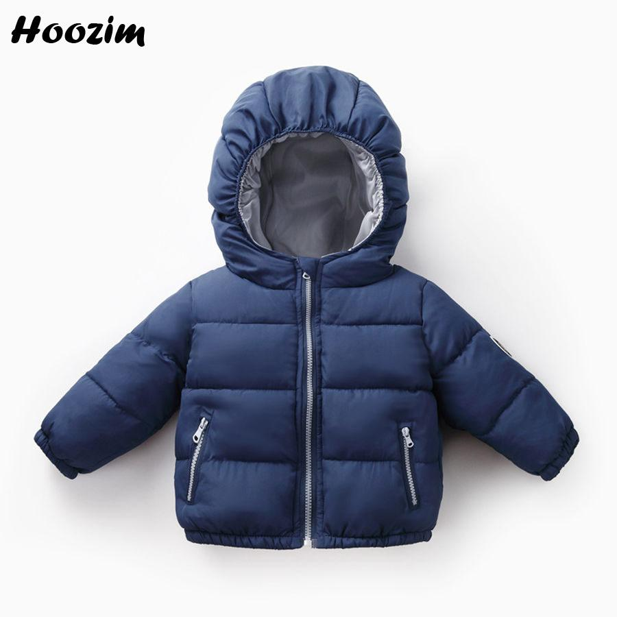 2d1692740 Winter Jackets For Boys 4 5 6 7 Years Fashion Blue Hooded Coat Kids ...