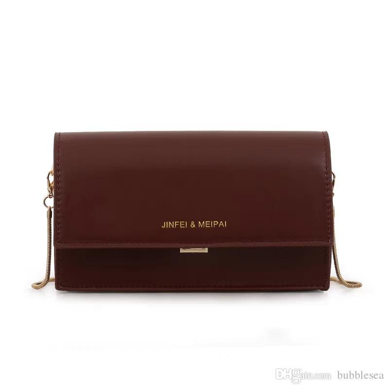 0307faf79cf5 Retro Small Bag Female Europe And the United States Chain Fashion ...