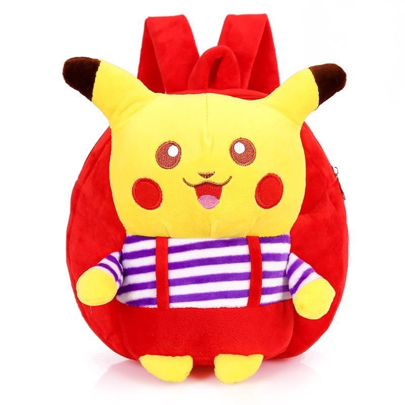2019 Lovely Mochila Pikachu Baby Kids Plush Backpack Toys Mini