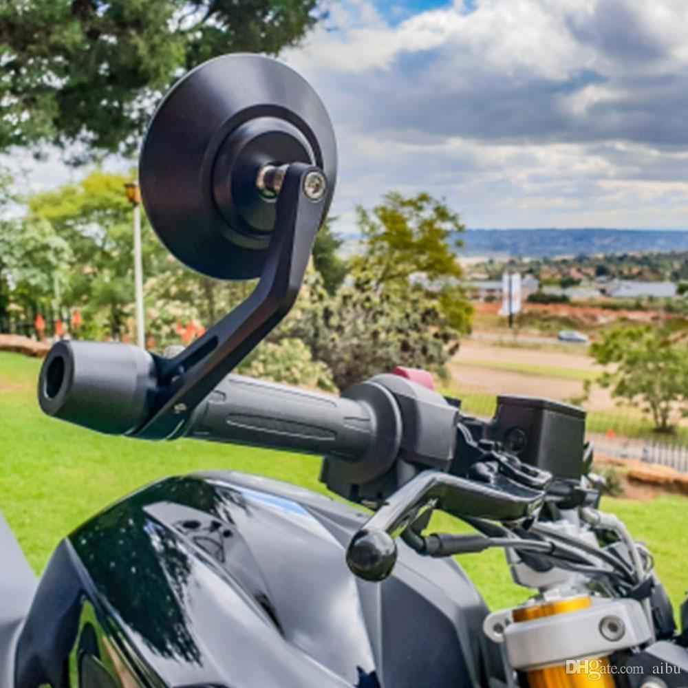 ed1a72e0c41 Compre Para La Motocicleta Espejos Retrovisores Universal Moto Parte Cnc  Final Manillar Espejo Retrovisor Para Honda HORNET 600 MSX CB1300d CB190R A  $24.13 ...