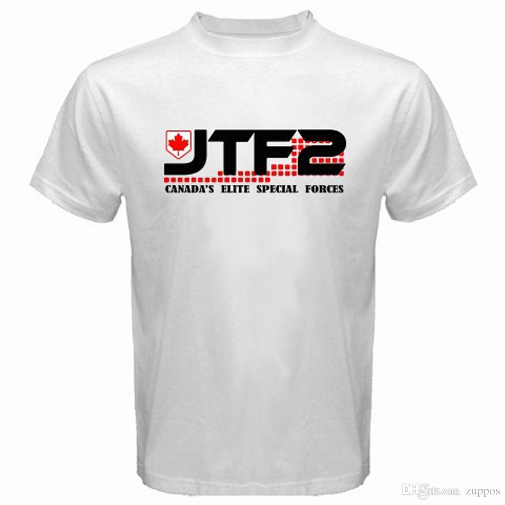 fbaf457e5e03 Newest Funny JTF2 Canadian Special Ops Force Army Military Men S White T  Shirt Size S To 3XL Funny T Shirt Companies Designer Mens T Shirt From  Yuxin0003