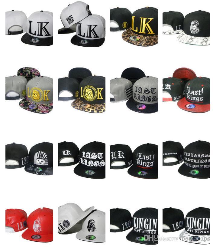 8b87d0e9 Wholesale top quality Last&Kings Snapbacks hats Hip Hop 5 panel caps men  women outdoor cap 10000+ styles hats free shipping
