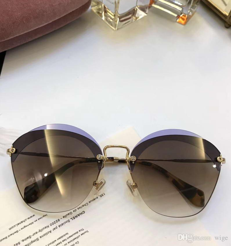 b0967d143580 Women 53SS TRANSPARENT VIOLET Sunglasses Brown LENS Designer Brand Old  Fashion Cat Eye Sunglasses New Wit Box Prescription Sunglasses Glasses  Frames From ...