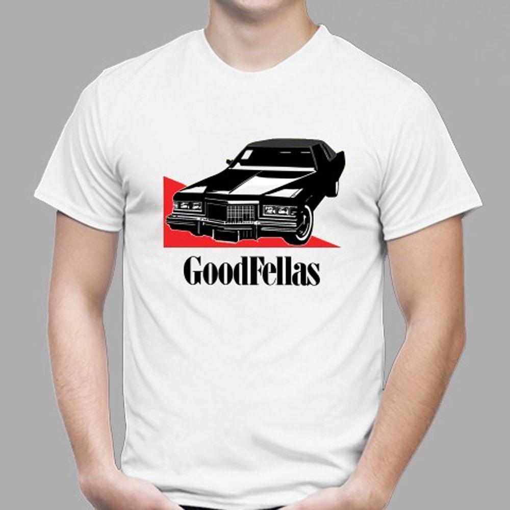 New Goodfellas Mafia Car Symbol Movie Film Mens White T Shirt Size