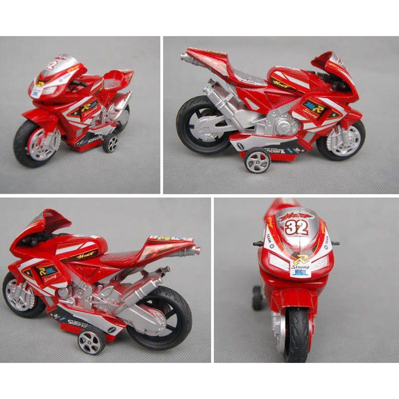 El mini juego de juguete de colección de juguete modelo de motocicleta para niños hermoso, de dos ruedas, motos de juguete, envío gratis H046