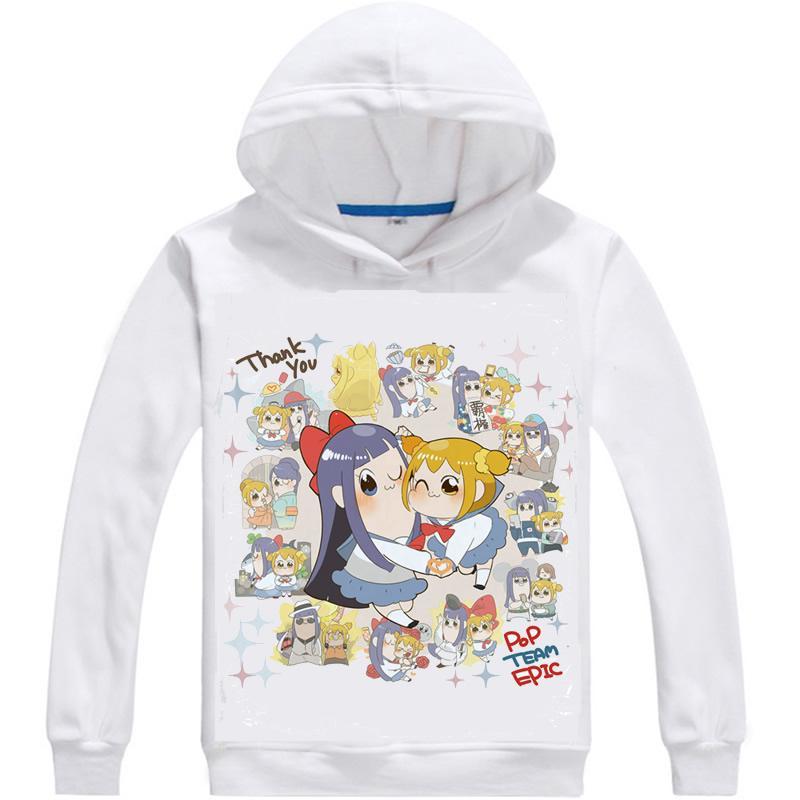 Compre Anime Hoody Pop Team Sudaderas Con Capucha Epic Poputepipikku Hip  Hop Popuko Sudaderas Con Estampado Multi Style Pipimi Sudaderas Hipster A   30.91 ... 67e2d86855299