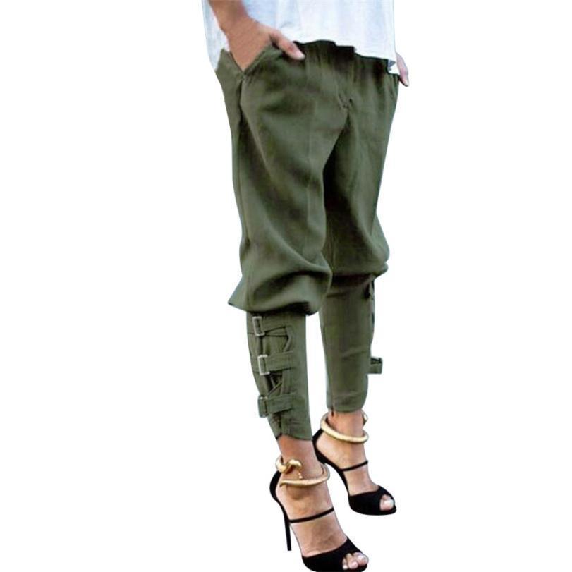 Compre Feitong Para Mujer Sólido Nuevo Casual Harem Baggy Hip Hop Baile  Sudor Pantalones Cordón Cordón Pantalones Tallas Grandes C18111601 A  17.99  Del ... c2b80d27de1