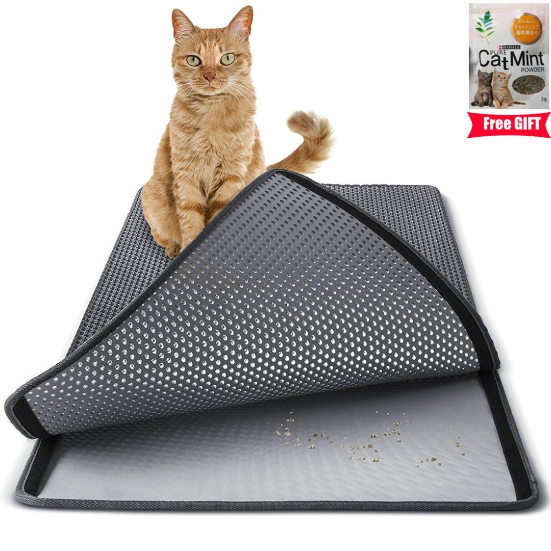 a34e206cb 2019 Large Double Layer Cat Litter Mat Trapper EVA Waterproof Pad 3D  Honeycomb Kitty Pet Rabbit Litter Catcher Mat From Tinaya, $22.79 |  DHgate.Com