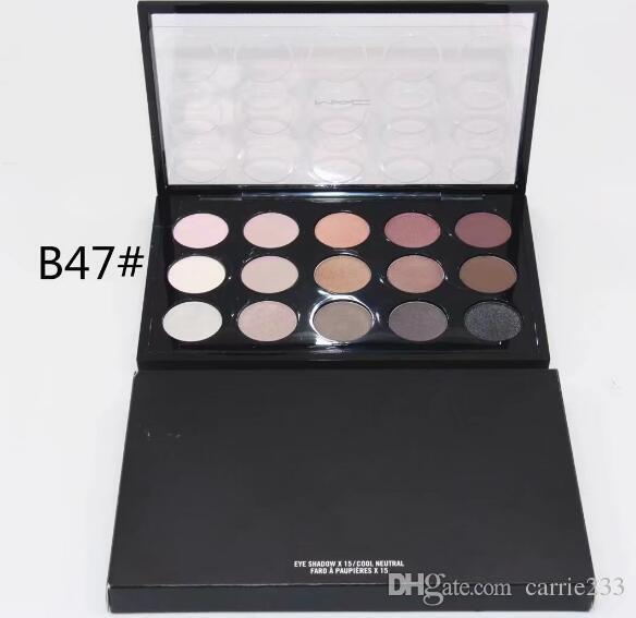 Envío gratis 1 UNIDS ventas directas de la fábrica de la popular nueva marca de maquillaje es paleta de sombras