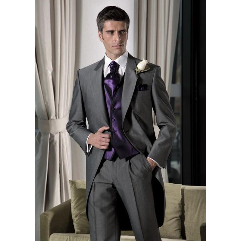 Acquista Tailcoat Prom Pantaloni Mens Matrimonio Giacca Con Abiti CavwzCq7