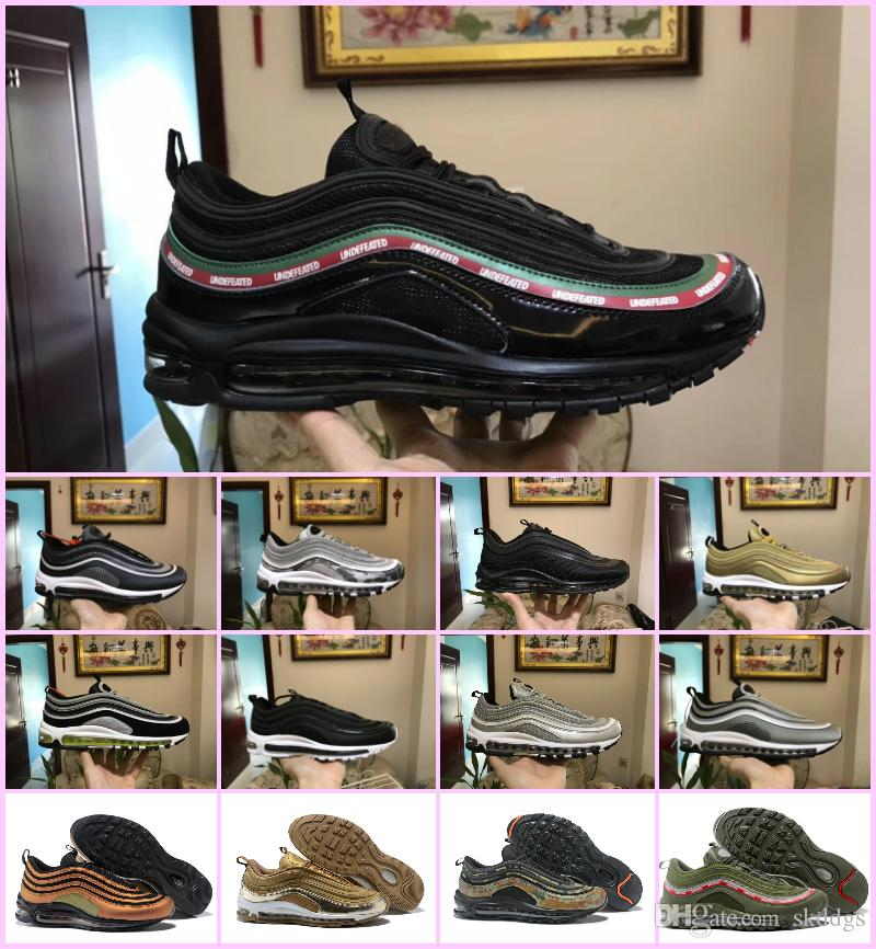 a80c3f67c88c 2018 AIR 97 OG X Undftd Black Speed Red DS Top Quality Mens 97s Ultra Sean  Wotherspoon Shoes Women Air Undftds Undefeated Sneakers 97 Shoes AIR 97  Shoes 97 ...