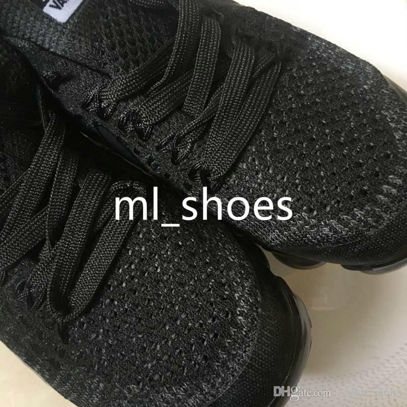 New Kids Shoes 2018 Running Shoes Children Athletic Shoes Baby Boy Girl Training Sports Sneakers Black White Grey Orange Purple With Box