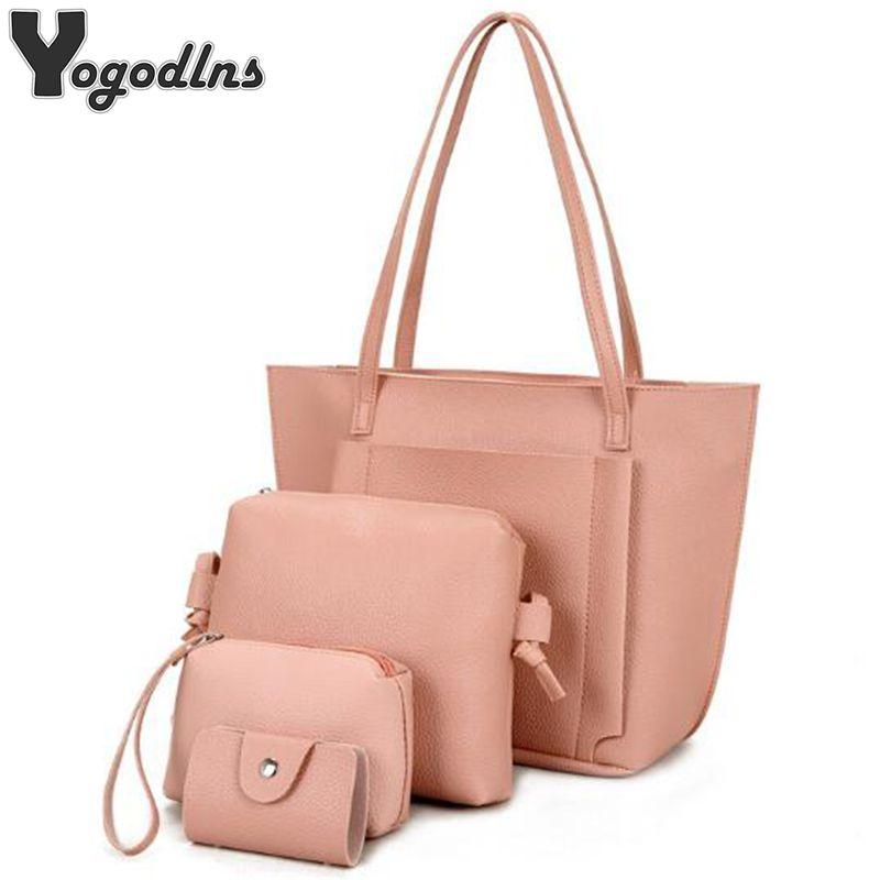 bad6bada7fb9 Female Luxury Handbags Set Women Designer Bags Clutch Shoulder Bags  Crossbody Bag Women High Quality Bag Bolsas Feminina Sac Y18102203 Handbags  On Sale ...