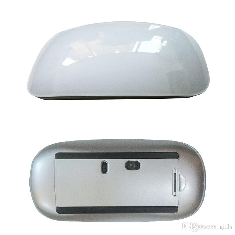 USB / Bluetooth Mouse Ultra Thin 2.4G Mini Touching Mouses Wireless Micee Touch Magic Mouse Receiver For Apple and others