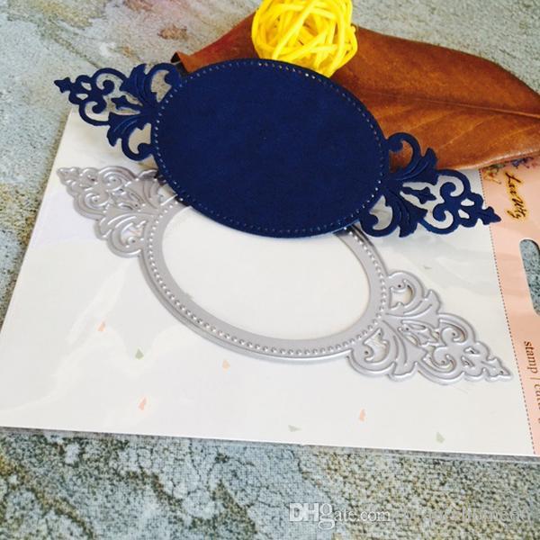 DIY Mirror FrameMetal Steel Embossing Cutting Dies Craft Dies Scrapbooking 3D Stamp DIY Card Making Photo Decoration CD001