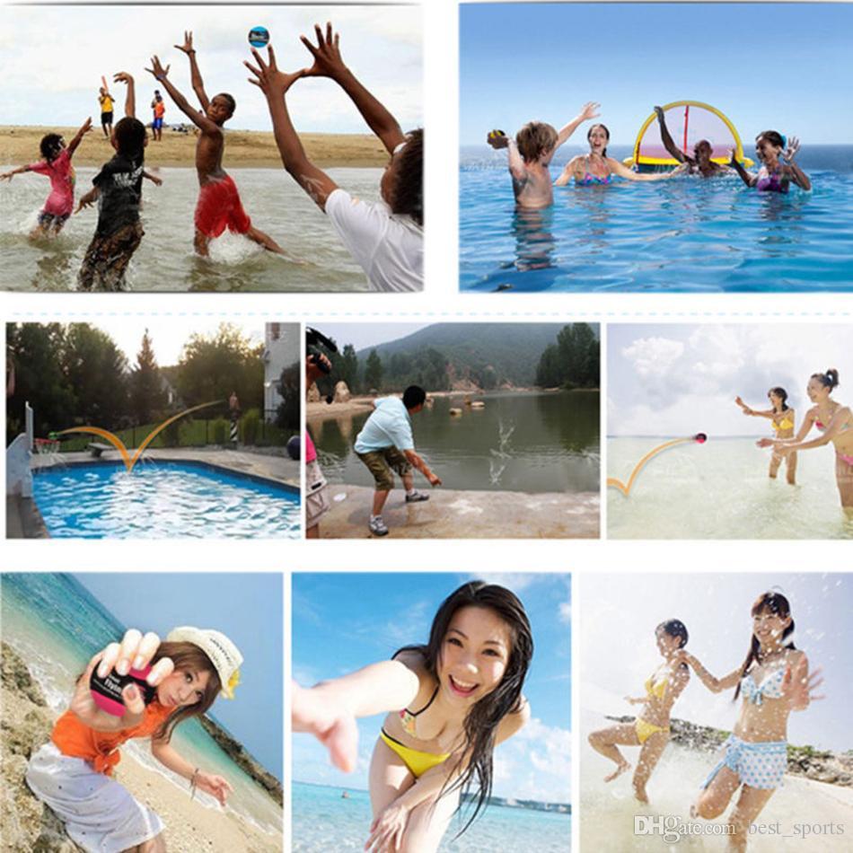 Вода Jumpping бал премиум воды прыгающий мяч TPR цвет бассейн океан пляж игры в 4 цветах LJJM14