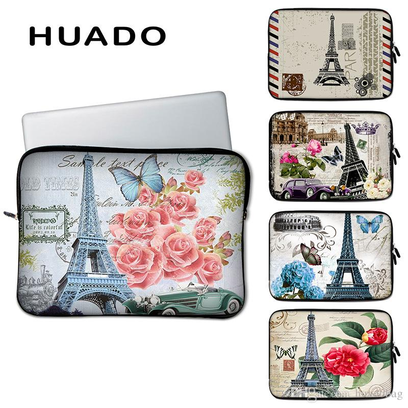 1ee69744de23 Eiffel tower pattern notebook bag 15 PC accessories 15.6 laptop sleeve case  cover for macbook air/hp/dell/asus