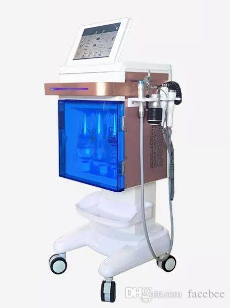 Facial hidro dermabrasión chorro de oxígeno cáscara hidratante para la piel Inyector de oxígeno pulverizador agua manejo de la piel máquina de belleza