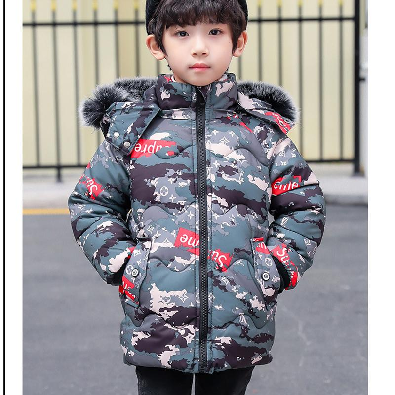4b8e0102d BINIDUCKLING Autumn Winter New Baby Girl Winter Clothes Camouflage ...