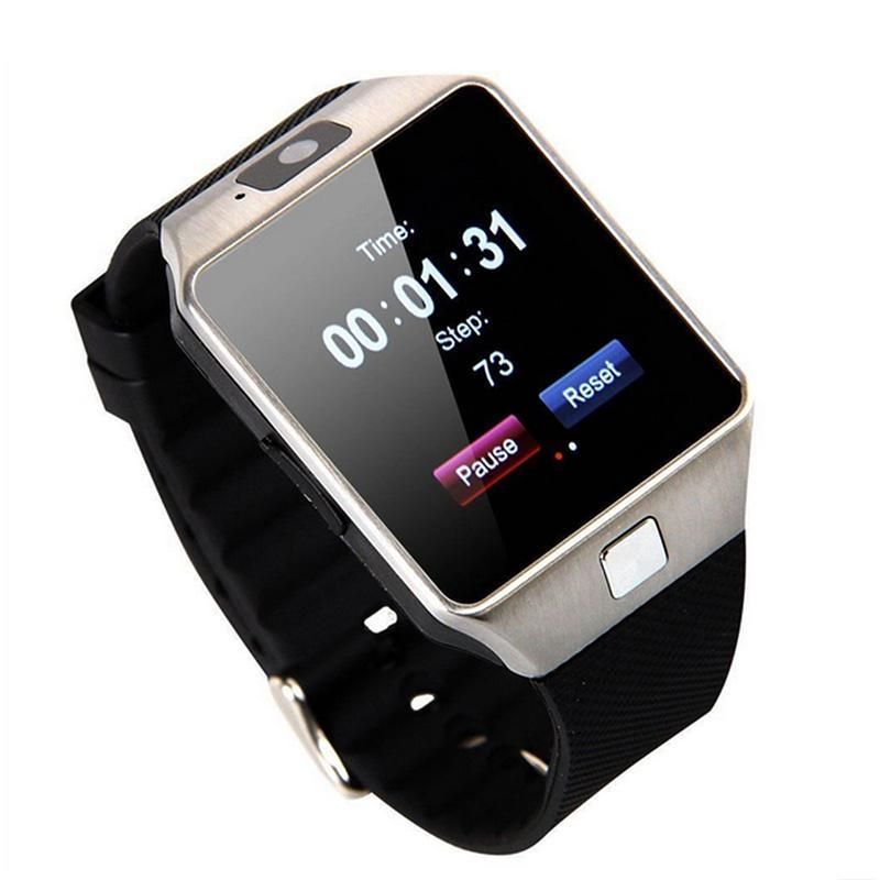 DZ09 Bluetooth Smart Watch Phone Mate GSM SIM per Android iPhone Samsung HTC LG Huawei Cellulare 1.56 pollici Free smartwatches DHL