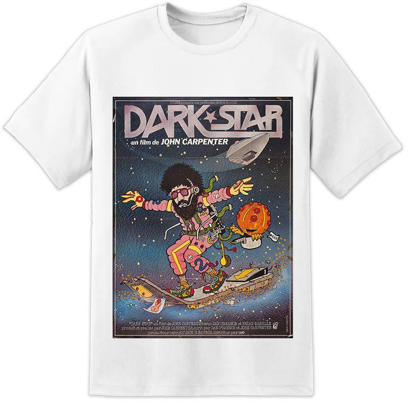 0feba1ff Printed T Shirts Online Short Sleeve Zomer Crew Neck Dark Star T ...