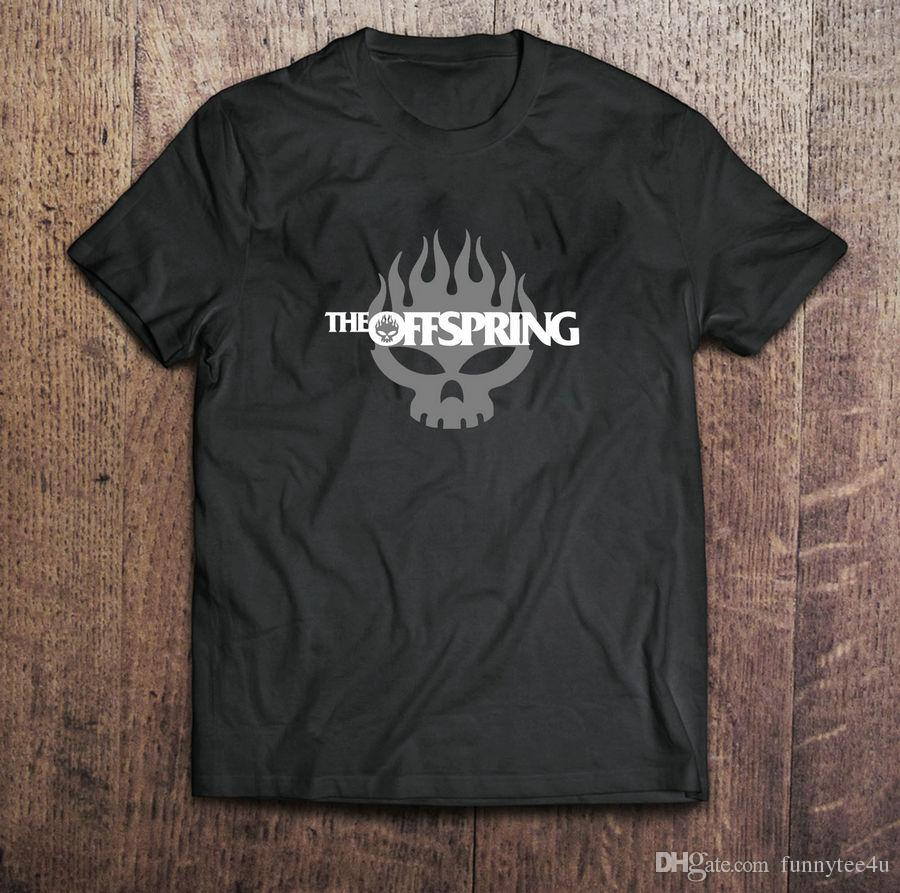 37876833edaaed The Offspring Rock Band Logo Black T-Shirt Mens Tshirt S To 3Xl T ...
