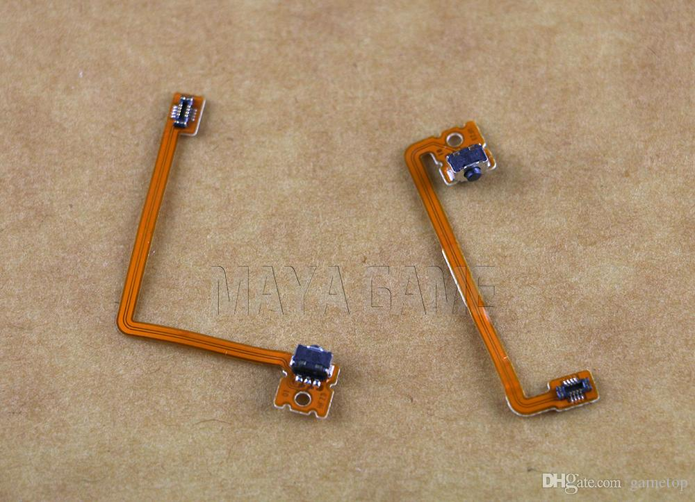 Switch L/R Left Right Flex Button Trigger Shoulder Flex Ribbon Cable For 3DS XL Console For 3DSXL Accessory