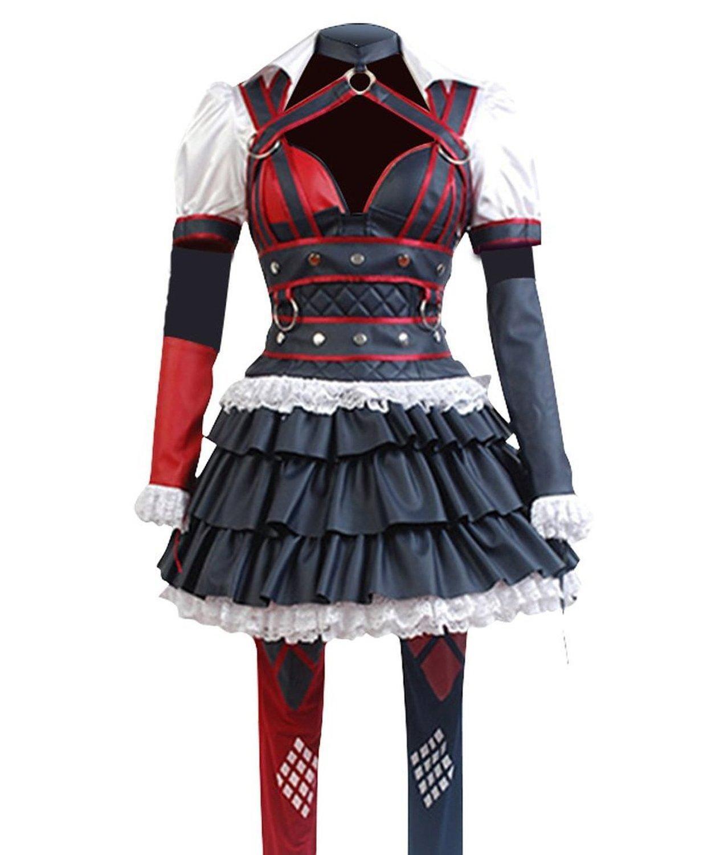 Women s Cosplay Costume Harley Quinn Halloween Dress