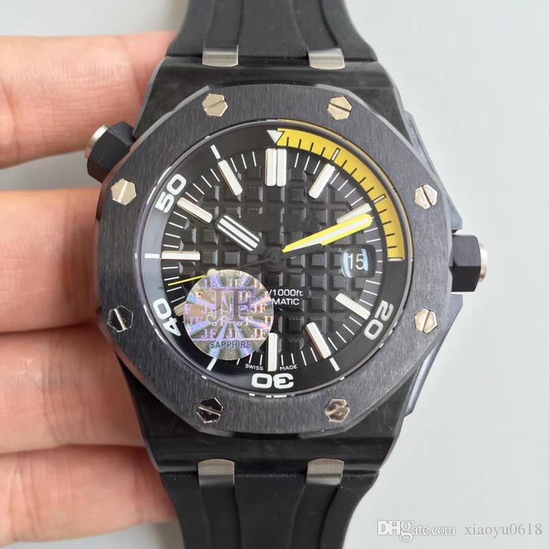 2018 AAA luxury brand watches fashion Hollowed out flywheel New Men's Fashion style watch, high quality top brand men wristwatch Rubber bla