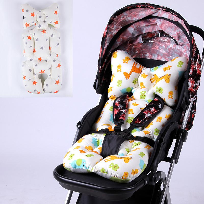Strollers Accessories Baby Cartoon Animal Stroller Cushion Seat Cover Baby Diaper Pad Seat Pad Cotton Baby Stroller Mat Mattress Pram Stroller
