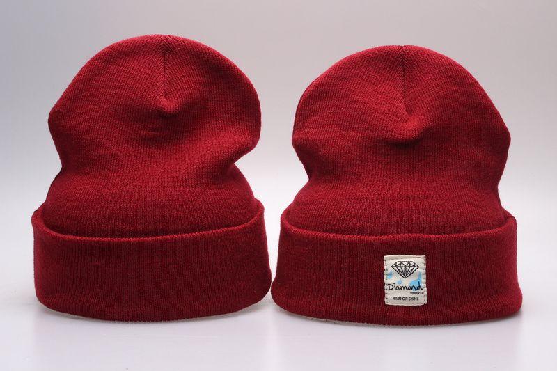 Diamond Supply co. beanie hat popular style skullies Beanies Snapbacks Hats Caps Winter Street Wear Beanies for men and women