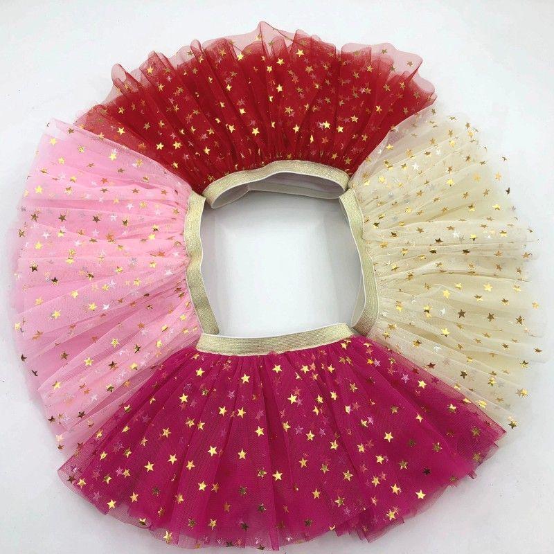 d383d9e03 2019 Wholesale Beautiful Golden Sparkle Waist Baby Girls Party Tulle Tutu  Summer Sequin Star Baby Tutu Skirt From Angelskirt, $4.03 | DHgate.Com