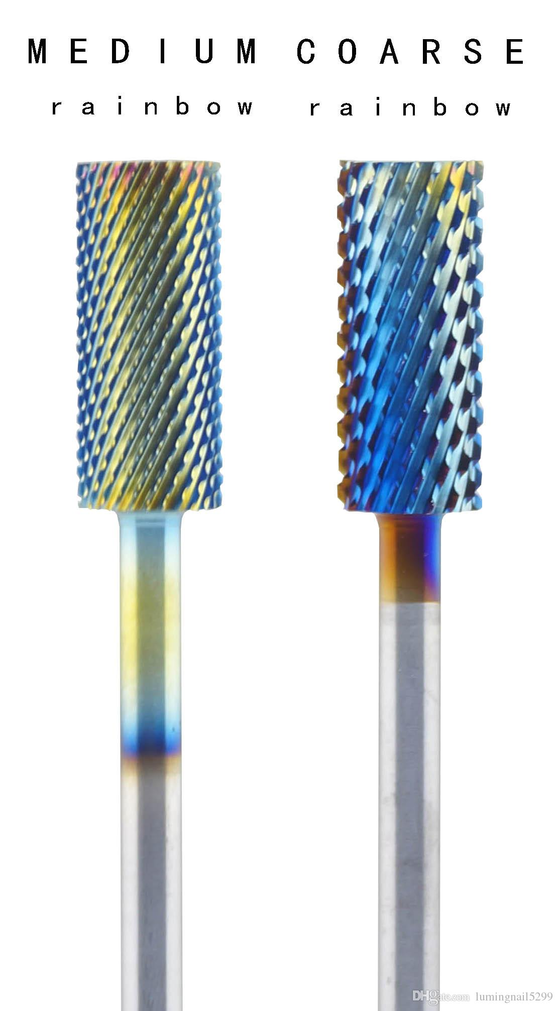 Carbide Nail Bits C&M/ C&F/ M&F Grinding Drill Bits Nail Art Gel ...