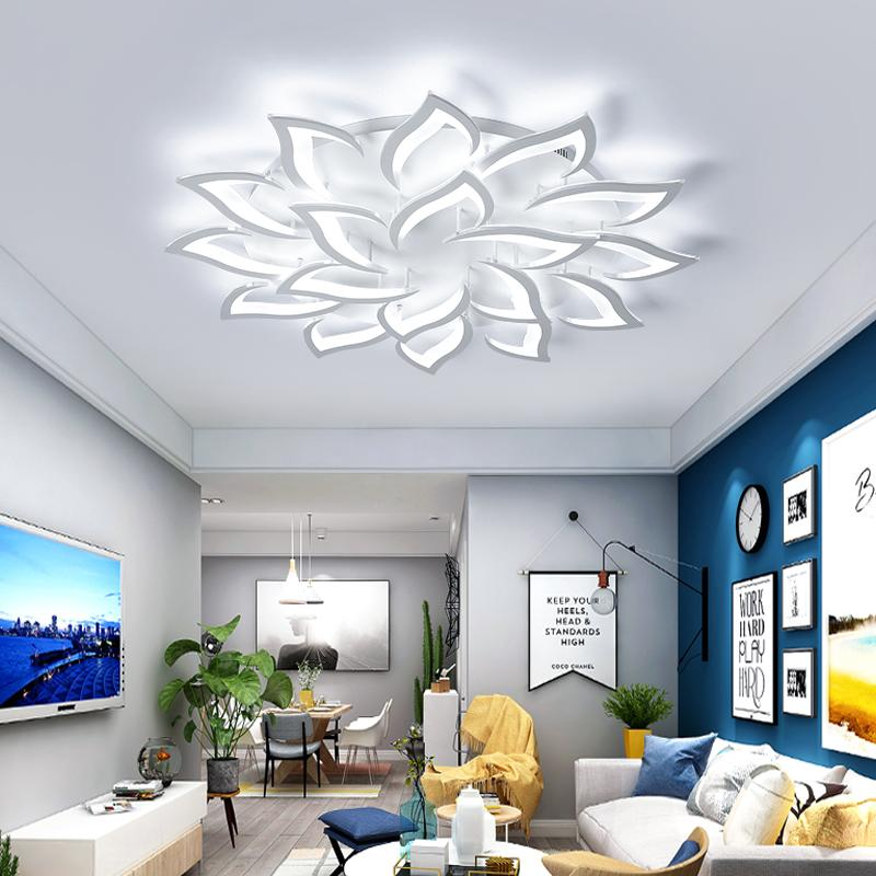 Super Ac85V 260V Modern Led Ceiling Lights For Living Room Bedroom Creativity Flower Type Lighting Fixtures Ceiling Lamp Free Shippin Download Free Architecture Designs Barepgrimeyleaguecom