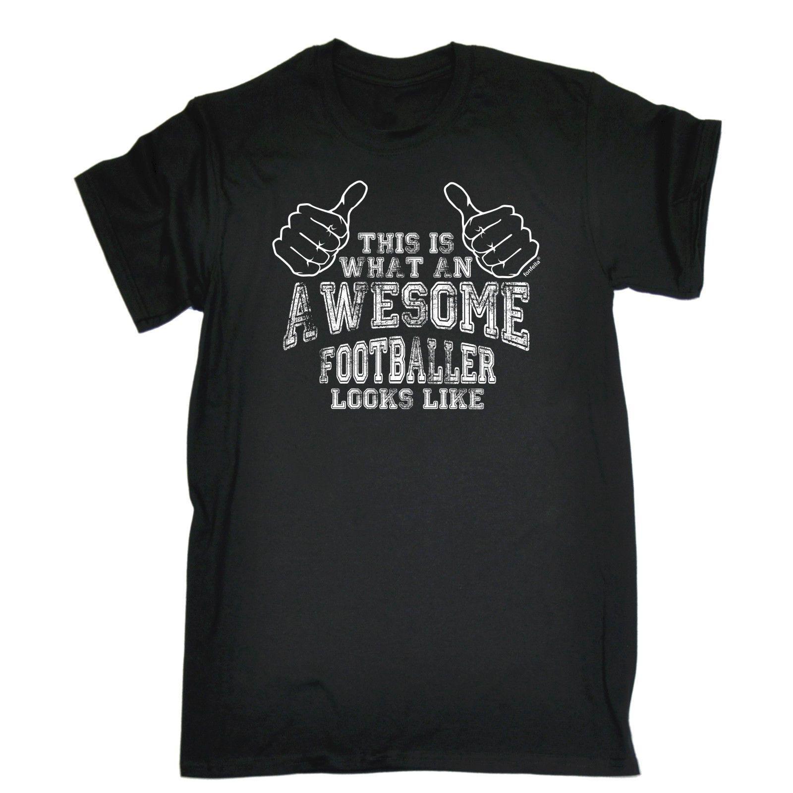 Wie Ein Fantastischer Fußballspieler Aussieht T Shirt Fußball Fußball Geschenk Geburtstag