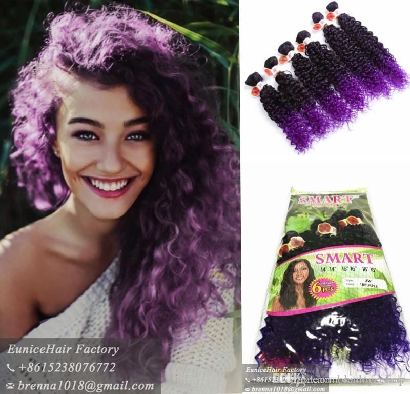 Best Brazilian Curly Natural African Hair Weave Bundles Synthetic