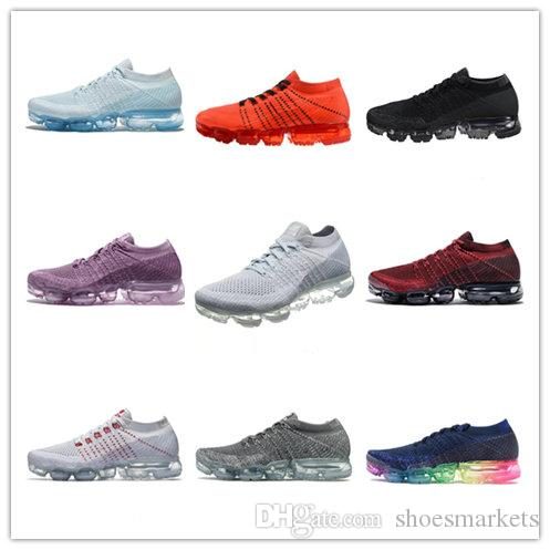 2018 New Arrival VaporMax Mens Women Shock Racer Running Shoes For Top quality Fashion Casual Vapor Sports Sneakers Trainers With Box discount manchester great sale supply glhMo