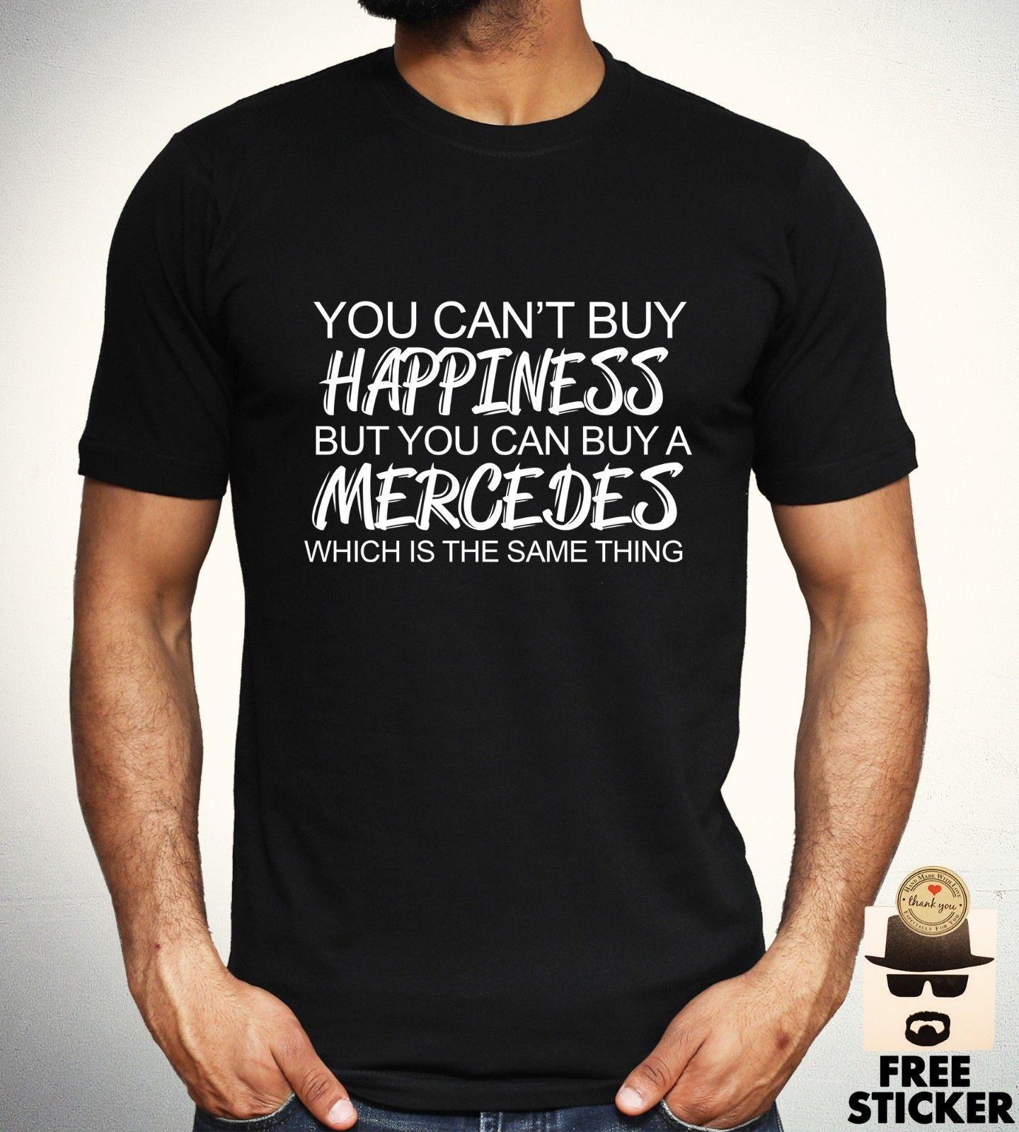 Großhandel Mercedes Benz Lustiges T Shirt Auto Sport Rennsport T