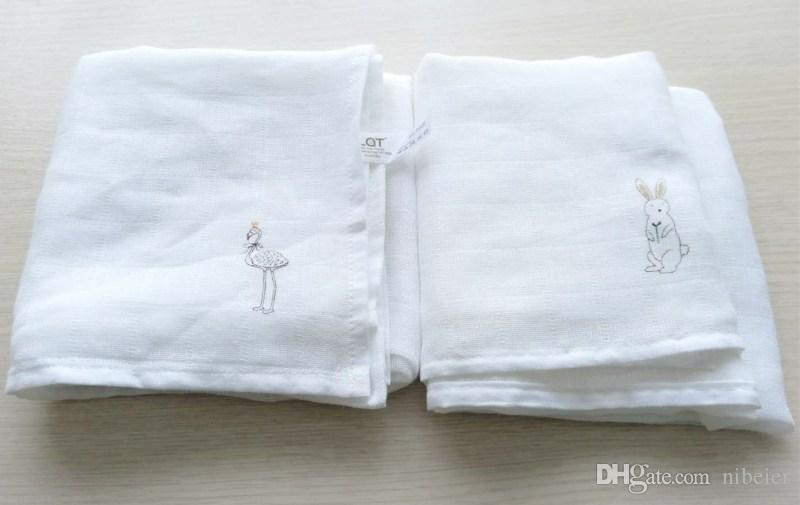 New Design nappy 70*70 CM 4 packet set baby 100% cotton muslin diaper cloth infant diaper
