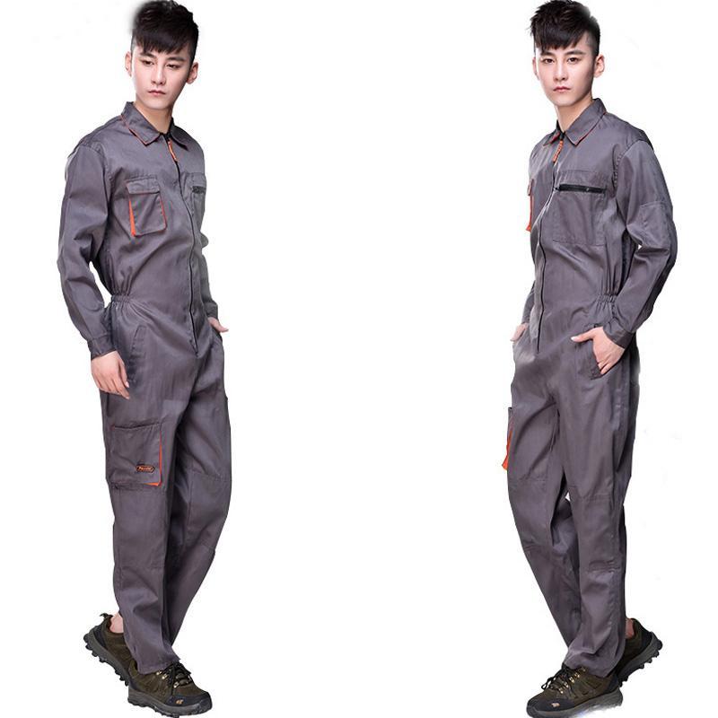 Unisex Work Wear 4S Car Auto Shop Staff Uniform Welding Worker Coveralls  Machinist Work Clothing Overalls for Women Men Cheap