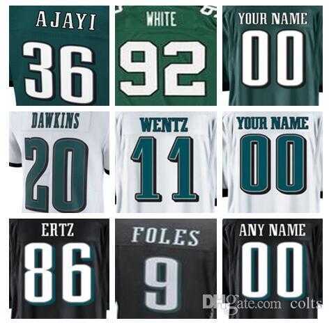 Philadelphia Carson Wentz Eagles Jersey Brian Dawkins Alshon Jeffery ... 98985e677