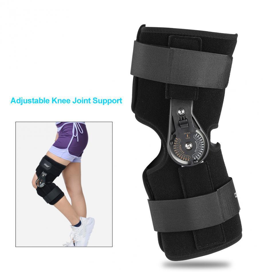 88dbdec4ac Oper Adjustable Medical Hinged Knee Brace Knee Joint Support Orthosis  Ligament Sport Injury Splint Knee Patella Fracture Pads Shoulder Braces  Shoulder ...