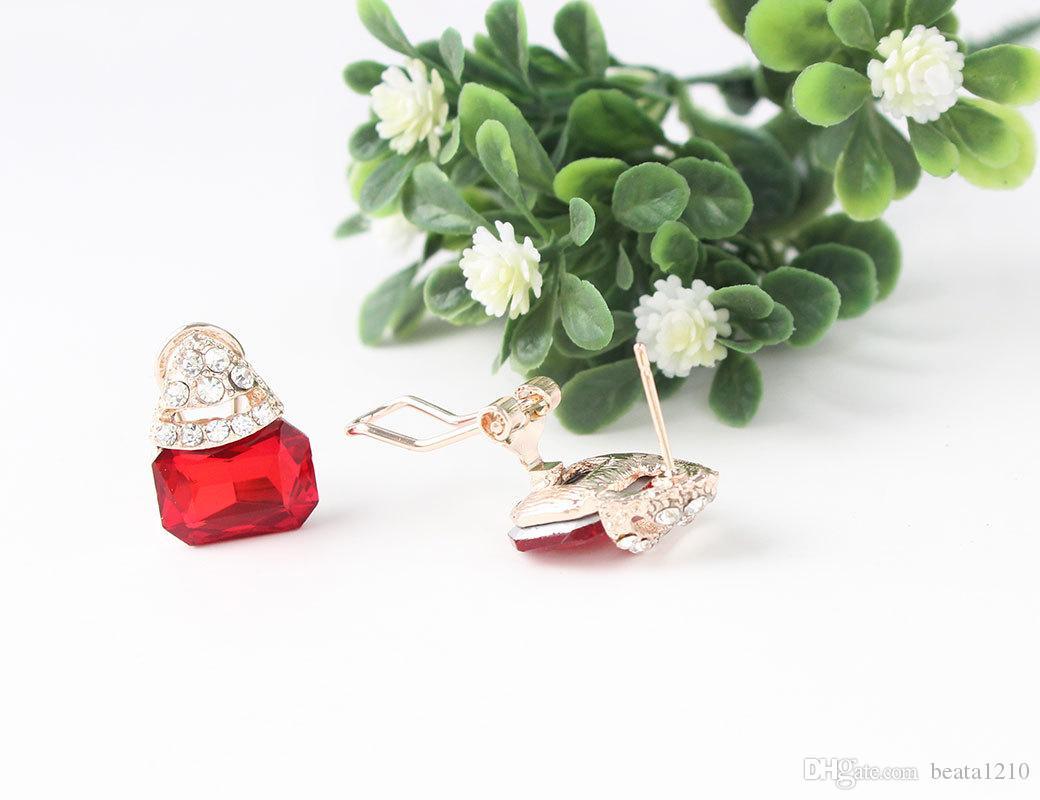 Großhandel Ohrstecker Ohrstecker für Frauen Mädchen Valentinstag 2018 Modeschmuck Stores Ohr Ringe Geschenk Ideen Ohrringe Europäischen 10 paar