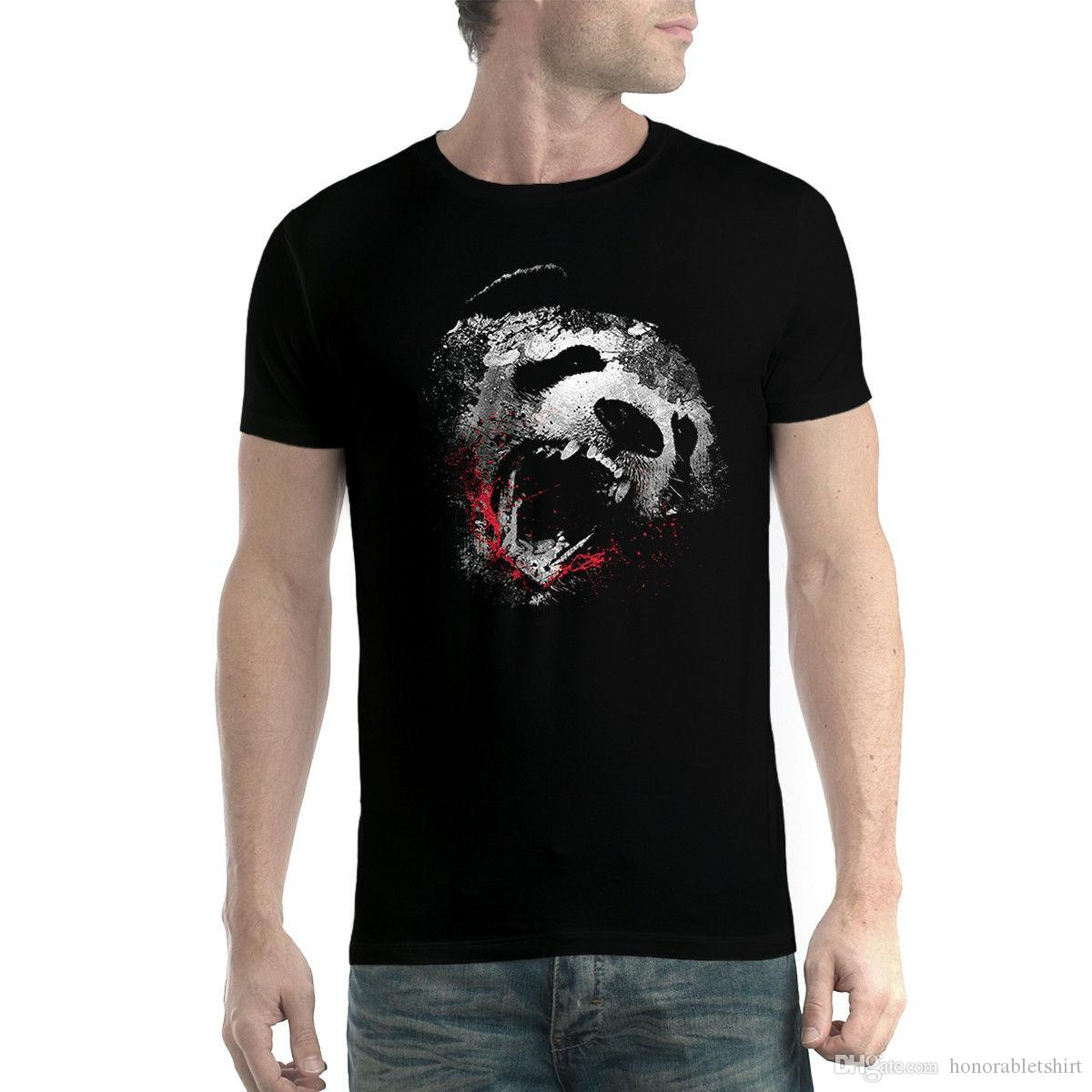 f8389d89c5ebe6 Killer Panda Tiere Herren T Shirt XS 5XL Neu T Shirts Online Shopping Buy T  Shirts From Honorabletshirt