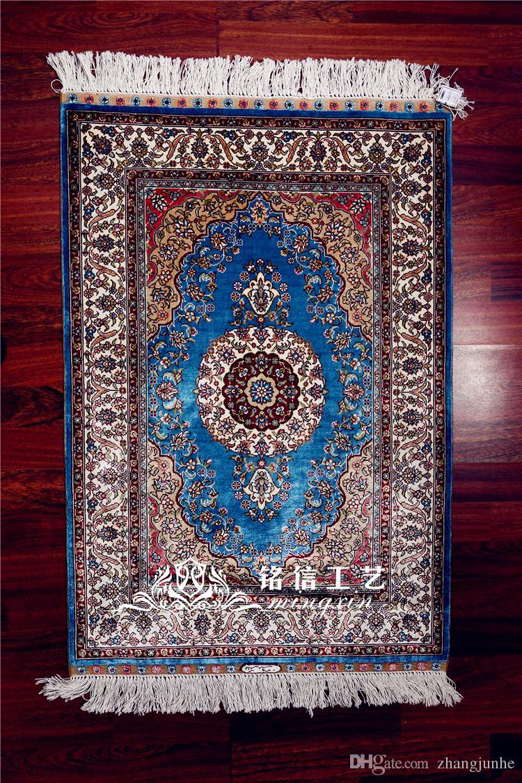 Acheter 2x3ft Persian Tapis Soie Tapis Soie Tapis Prier Tapis Pour