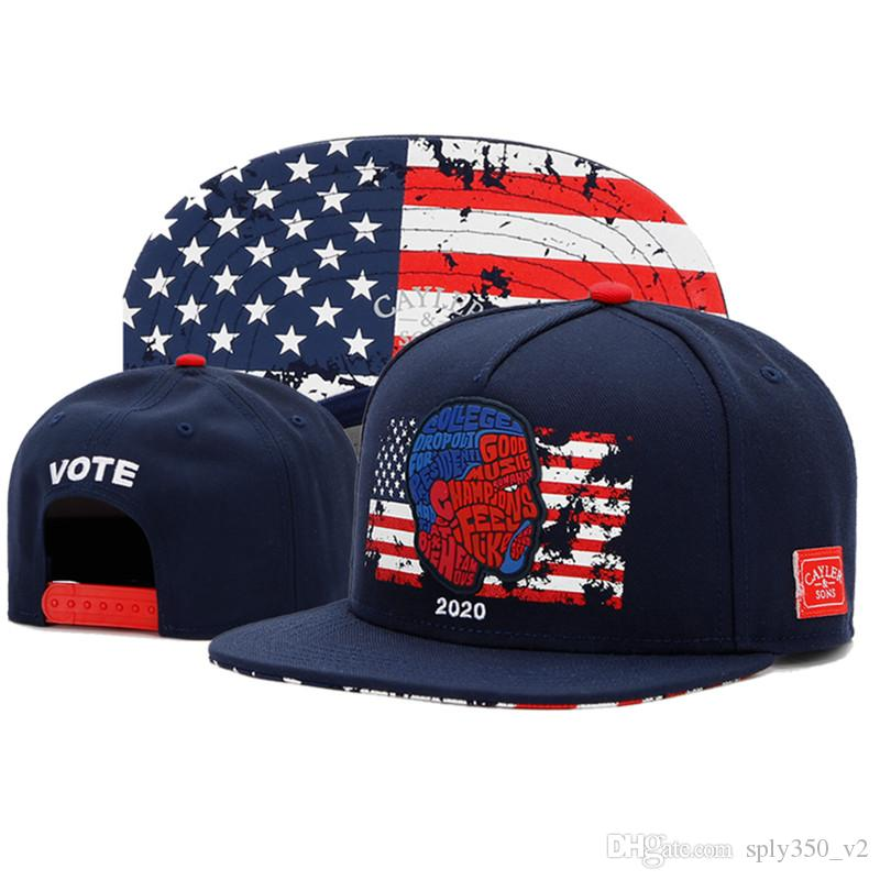 VOTE 2020 Snapback Hats for Men Women Baseball Cap Mens Womens ... 355e025c96ad