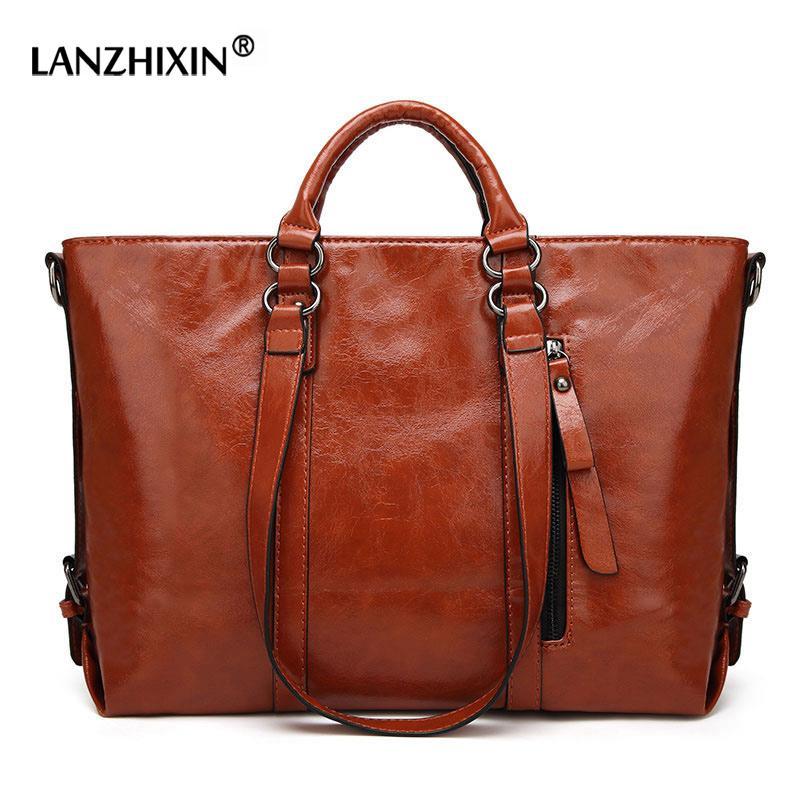 0bbde9d1a Compre Lanzhixin Mulheres Messenger Bags Para As Mulheres Bolsas De Couro  Top Handle Bags Designer Bolsas De Ombro Bolsa Feminina A003 De Abbybab, ...
