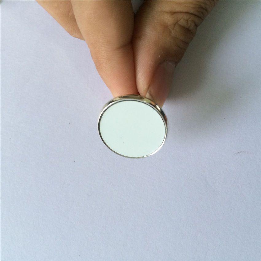 французские запонки для сублимационных запонок для мужчин для термопечати персонализированные подарки пустые расходные материалы 20мм