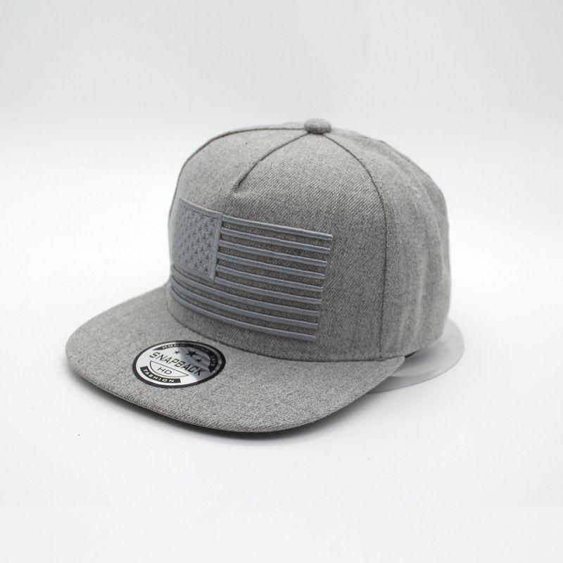 21892fb68ad Popular USA Flag Embroidery Hats Cool Flat Brim Adjustable Baseball Cap 3D  Flag Snapbacks Hat Ourdoor Couples Cap Hip Hop Fashion Caps Canada 2019  From ...